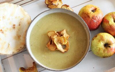 Sellerie-Apfel-Suppe (Rezept des Monats)